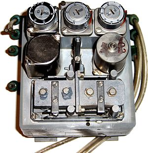 "Instrumentation - Pneumatic ""Three term"" pneumatic PID controller, widely used before electronics became reliable and cheaper and safe to use in hazardous areas (Siemens Telepneu Example)"