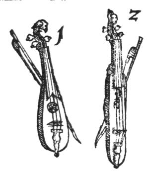 Kit violin - Image: Pochette Tanzmeistergeige