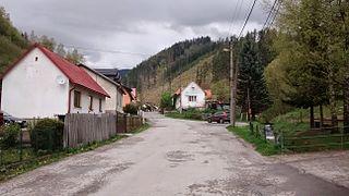 Pohronský Bukovec Village in Slovakia