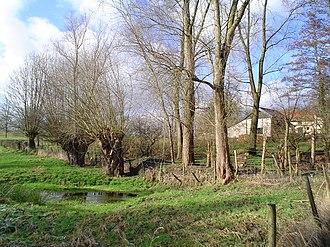 Helle, Beekdaelen - A puddle near the Nelisweg in Helle