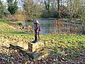 Pond and pump, Beech Hill - geograph.org.uk - 635037.jpg
