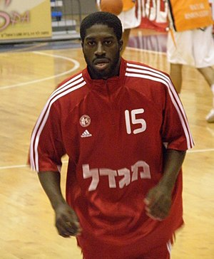 Eugene Jeter - Jeter playing for Hapoel Jerusalem