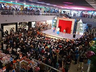 Pororo the Little Penguin - Image: Pororo the Little Penguin performance, Nex, Singapore 20131215