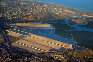 Port River - Image: Port Adelaide aerial view