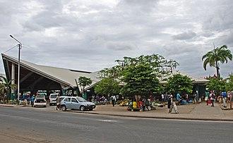 Economy of Vanuatu - A market in Port Vila.