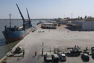Ziguinchor - Port of Ziguinchor