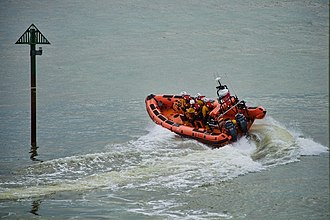 Atlantic 85-class lifeboat - Atlantic 85 B-832 in Porthcawl in 2011