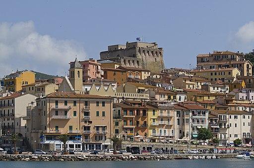 Porto Santo Stefano, Porto Vecchio e Fortezza Spagnola