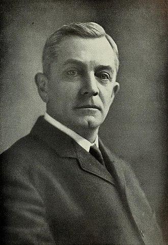 James Huff Stout - Portrait of James Huff Stout.