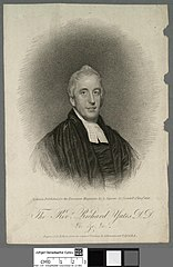 Revd. Richard Yates D.D. &c. &c. &c