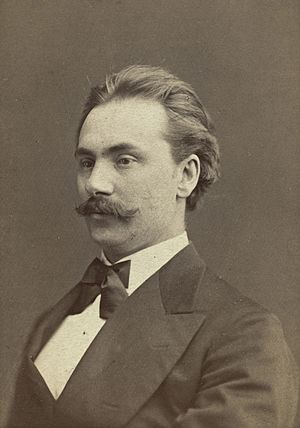 Johan Svendsen - Image: Portrett av komponist og dirigent Johan Svendsen (1840 1911) (34133117716) (cropped)
