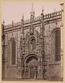 Portugal, portaal Gotische kathedraal, RP-F-F01139-EJ.jpg