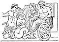 Poseidon och Amfitrite på en vagn dragen av tritoner.jpg