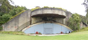 Drummond Battery - Gun emplacement 2 today