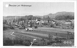 Postcard of Škocjan