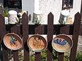 Pottery house complex. Wooden fence. Ceramics. - 28-30 Batthyány Street, Tihany.JPG