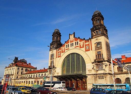 Estación de tren de Praga
