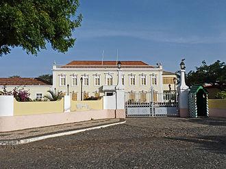 Presidential palace - Image: Praia Palácio Presidencial (1)