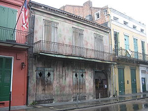 Preservation Hall - Image: Preservation Hall Closed 2
