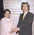 President Arroyo with Japanese Prime Minister Junichiro Koizumi.jpg