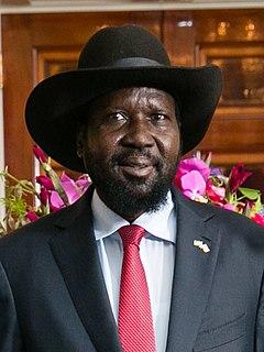 Salva Kiir Mayardit President of South Sudan (2011-present)