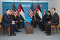 President Obama, Secretary Kerry Meet With Jordan's King Abdullah at NATO Summit in Wales (14953067398).jpg