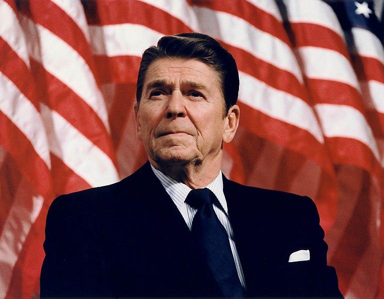 File:President Reagan speaking in Minneapolis 1982.jpg