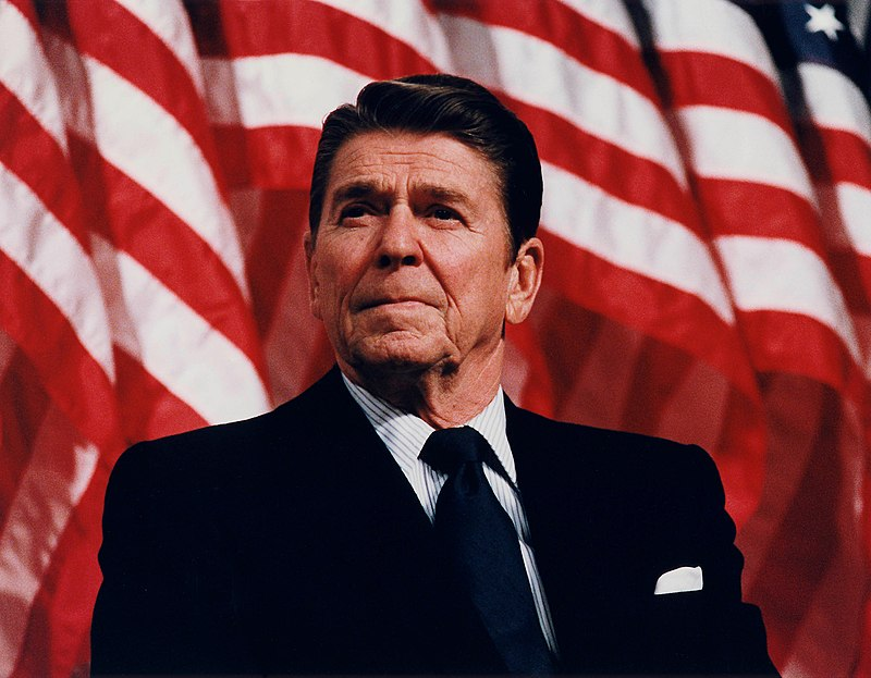 President Reagan speaking in Minneapolis 1982.jpg