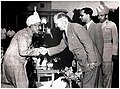 President of Yugoslavia Josip Broz Tito meeting with H.E.H. the Nizam of Hyderabad in 1956.jpg