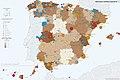 Principales centrales eléctricas en España 2014-2016 mapa 15048 spa.jpg