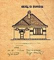 Proekt za strazarnica na patot Nis-Gevgelija, 1937.jpg