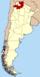 Lage der Provinz Salta