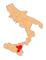 Provincia di Catania Two Sicilies map.png
