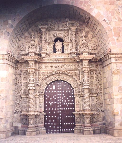 Archivo:Puerta de la Iglesia San Lorenzo Potosí Bolivia.jpg