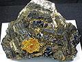 Pyrrhotite-sphalerite (Trepca Complex, Kosovo) 1 (18696978520).jpg