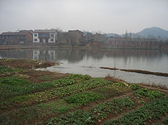 Qichun County - The Qichun countryside.