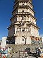 Qingzhou White Pagoda 2017 south stupa 1.jpg