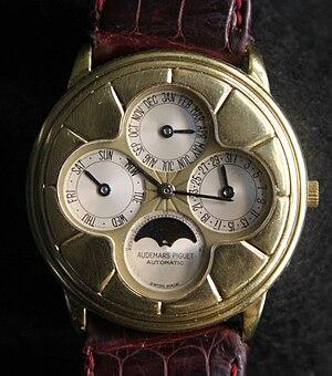 Audemars Piguet - Audemars Piguet Quantième perpétue containing a perpetual calendar