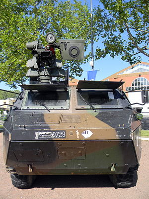 Véhicule de l'Avant Blindé - Equipped with Protector Remote Weapon Station