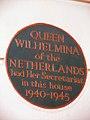 Queen Wilhelmina of the Netherlands had Her Secretariat in this house 1940-1945 (2).JPG