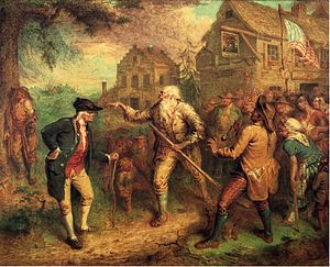 Frame story - The Return of Rip Van Winkle, painting by John Quidor, 1849