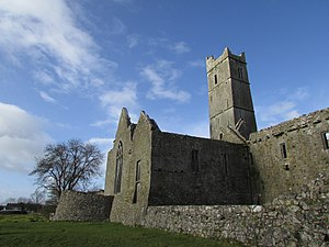 Thomond - Sioda Cam Mac Con Mara who was made warden of Limerick in 1369, also rebuilt Quin Abbey in the 1350s.