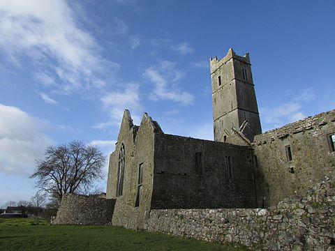 Sioda Cam Mac Con Mara who was made warden of Limerick in 1369, also rebuilt Quin Abbey in the 1350s. Quin Abbey - Flickr - KHoffmanDC (10).jpg