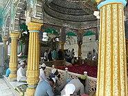 Qutbuddin Bakhtiyar Kaki's tomb