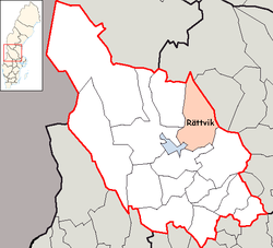Rättvik Municipality in Dalarna County.png
