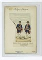 Régiments belges au service de d'Espagne. Gardes wallones. Fusiler et officier. 1773 (NYPL b14896507-84306).tiff