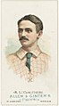 R. L. Caruthers, St. Louis Browns, baseball card portrait LCCN2007680699.jpg