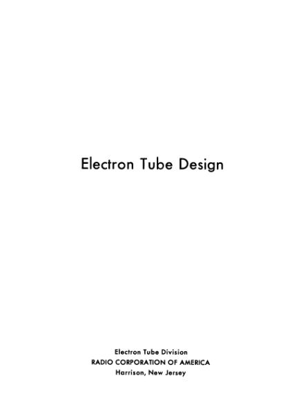 File:RCA Electron Tube Design 1962.djvu