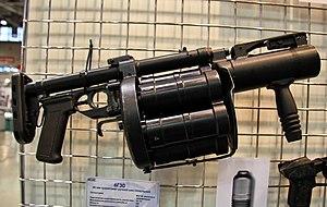 RG-6 grenade launcher - Image: RG 6 Interpolitex 2011