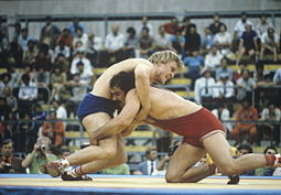 RIAN archive 497573 Wrestlers Ilya Mate and Julius Strnisko.jpg